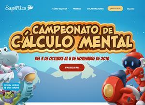 Campeonato de Cálculo Mental Supertics
