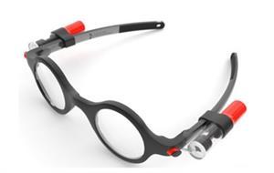 Gafas regulables.  Pruebas liberadas PISA. Biología (2015)
