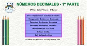 Números decimales - 1ª Parte
