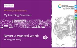 Never a wasted word: writing your essay (University of Manchester)
