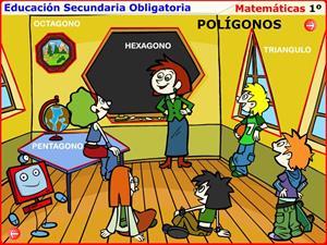 Polígonos. Introducción al tema y contenidos a recordar. Matemáticas para 1º de Secundaria