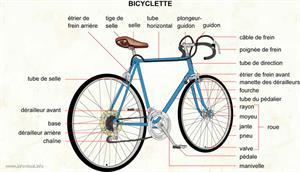 Bicyclette (Dictionnaire Visuel)