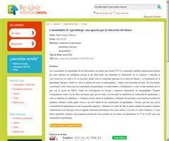 Comunidades de Aprendizaje: una apuesta por la educación del futuro | UNIR