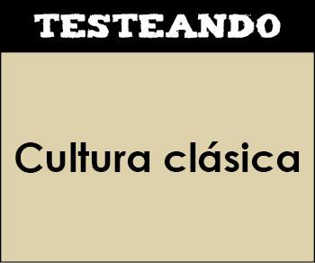 Cultura clásica - Asignatura completa. 3º ESO (Testeando)