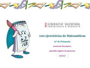 Cien ejercicios de Matemáticas para Primaria