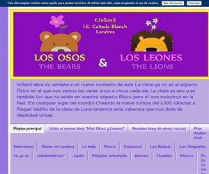 Osos y Leones Cañada Blanch  (Blog Educativo de Educación Infantil)