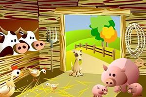 Los animales de la granja (Cuento motor)