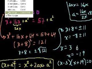 Cómo se completa un cuadrado (Khan Academy Español)