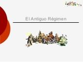 El Antiguo Régimen. Europa durante los siglos XVII y XVIII.
