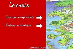 El relieve de España. La costa
