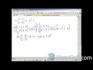 Inversa de una matriz 2x2 (En directo)