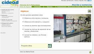 Mezclas y sustancias (cidead)