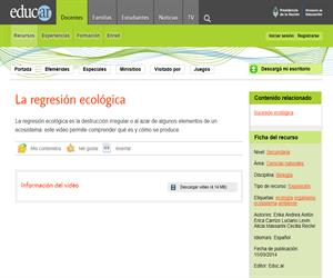Regresión ecológica