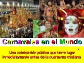 Descubrimos el carnaval alrededor del mundo