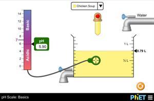 Echelle pH : Basiques