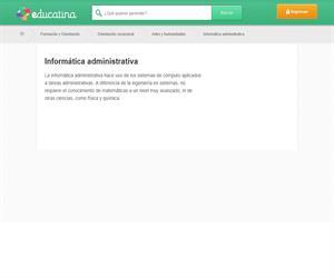 Informática administrativa