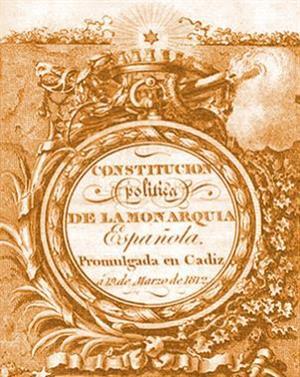 """200 años de """"La Pepa"""", la Constitución de Cádiz de 1812"""