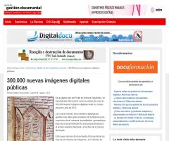 300.000 nuevas imágenes digitales públicas