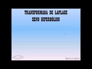Transformada Laplace seno hiperbólico
