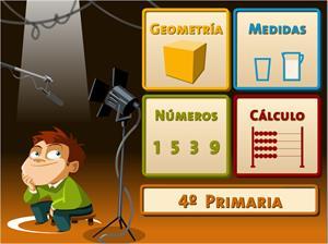 Juegos, números... ¡Acción! (4º de Primaria)