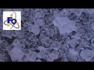 Experimento de Física: Cubitos de sal