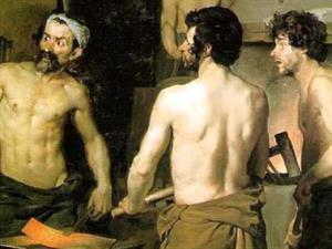 La fragua de Vulcano de Velázquez (Smarthistory)