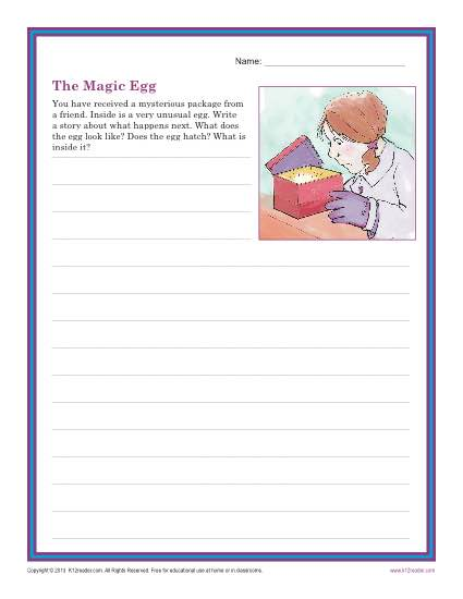The Magic Egg – Writing Prompt