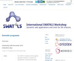 SWAT4LS  workshop