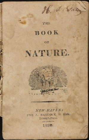 The book of nature (International Children's Digital Library)