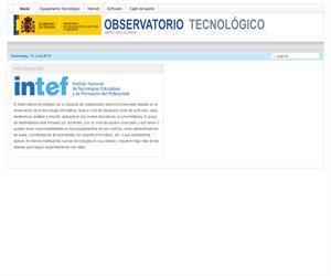 Observatorio Tecnológico del Ministerio de Educación