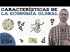 Características de la economía global