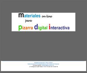 Materiales on-line para PDI. Conocimiento del Medio 3º Ciclo Primaria
