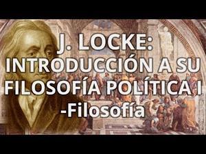 J.Locke. Introducción a su filosofía política 1
