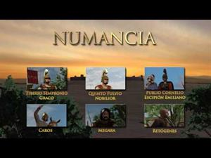 Numancia - Menu interactivo personajes
