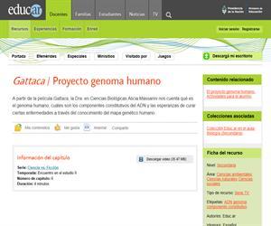 Gattaca / Proyecto genoma humano