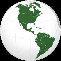 Ejercicios de Geografía:  Mapas y geografía de países de América
