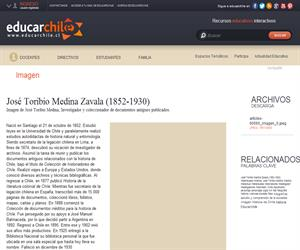 José Toribio Medina Zavala (1852-1930) (Educarchile)