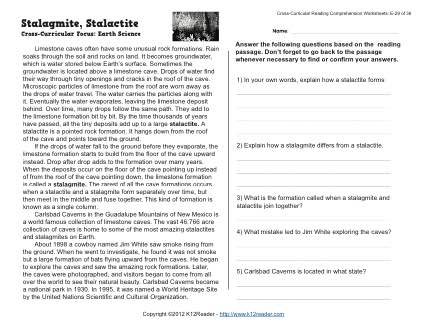 Stalagmite Stalactite