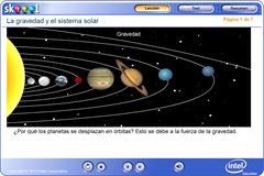 La gravedad y el sistema solar