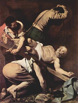 Crucifixión de San Pedro de Caravaggio (ArteHistoria)