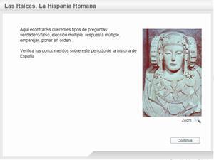 Cuestionario interactivo sobre la Hispania Romana