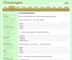 All Modal Verbs (usefulenglish)