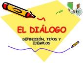 El diálogo. Definición, tipos y ejemplos