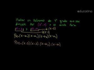 Factorización de un polinomio I