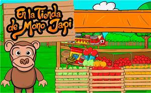 La tienda del mono Japi (juegos de abecedario)