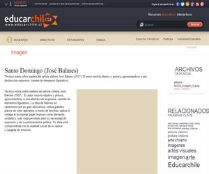 Santo Domingo (José Balmes) (Educarchile)