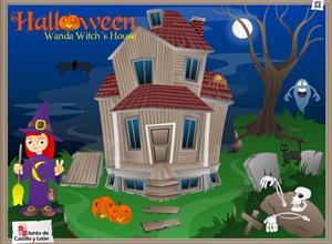 Halloween:  Wanda Witch's House (actividades en castellano)