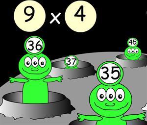 Juega con las tablas de multiplicar (sectormatematica.cl)