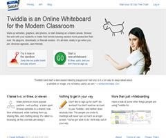 Twiddla, una pizarra online colaborativa (Team WhiteBoarding with Twiddla - Painless Team Collaboration for the Web )