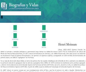 Biografia de Henri Moissan